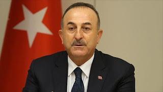 وزير الخارجية التركي إيجاد حل للصراعات بسوريا وليبيا ومناطق أخرى بالعالم بات أكثر إلحاحًا