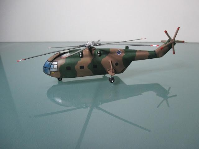 1/144 Sud-Aviation Super Frelon diecast aircraft