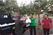 Puluhan Rumah Rusak, NU Peduli Salurkan Bantuan Ke Warga Desa Biting