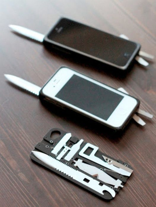 Cool Iphone Swiss Knife Case Nice N Funny