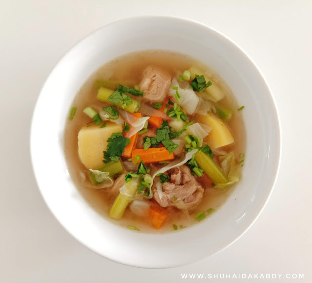 Resepi Sup Ayam Achik
