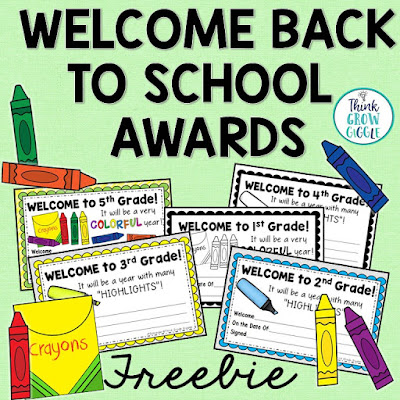 https://www.teacherspayteachers.com/Product/Back-to-School-Awards-Free-2423027