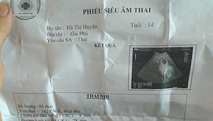 Làng Vàng Xuân Giao : Bé Gái 14 Tuổi Lộ Phiếu Siêu Âm Mang Thai