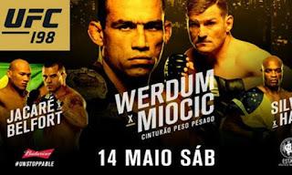 UFC 198: Werdum vs Miocic [Card Principal]
