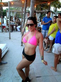 Lindas bailarinas de Santiago