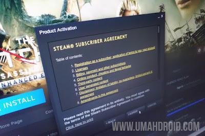 Cara Aktivasi Game Steam Key