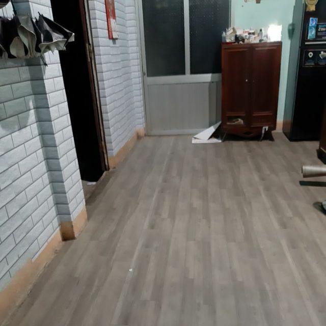 Simili trải sàn vân gỗ nhám - thảm nhựa lót sàn vân gỗ
