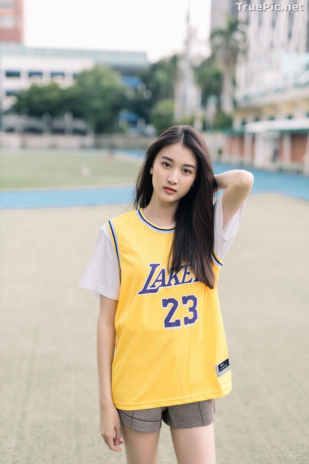 Image Thailand Beautiful Girl - View Benyapa - Long Hair Sport Girl - TruePic.net - Picture-10