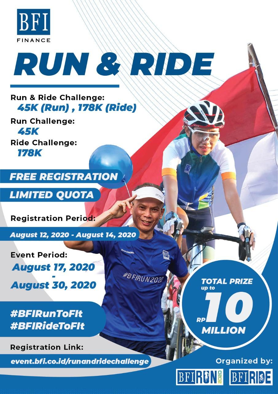 BFI Run & Ride Challenge • 2020