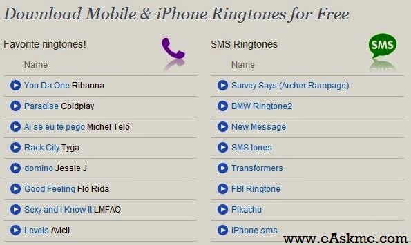 Best Websites to Download iPhone Ringtones free : eAskme