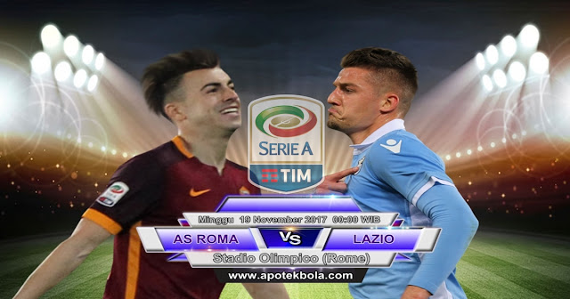 AS Roma vs Lazio 19 November 2017