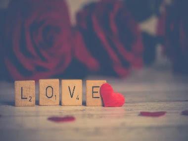 صورة قلوب مع كلمات وحروف LOVE