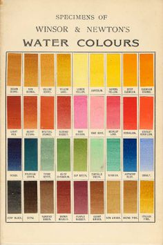 Winsor and newton color chart from also gurney journey results of the watercolor pigment poll rh gurneyjourneyspot