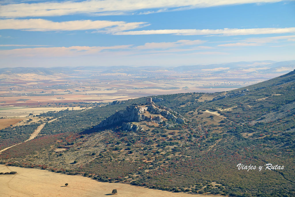 Vistas de alrededor del Castillo de Calatrava la Nueva