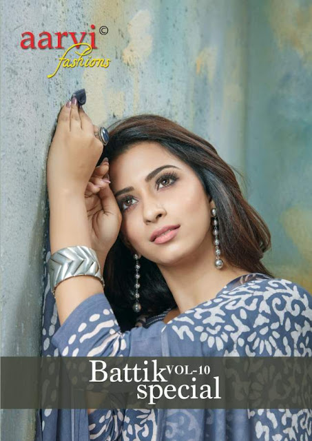 Aarvi fashion Battik special vol 10 Dress material
