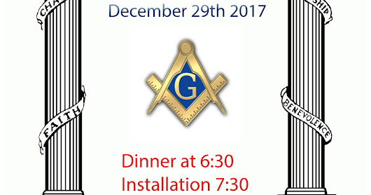 2017 Installation for Lodge 315