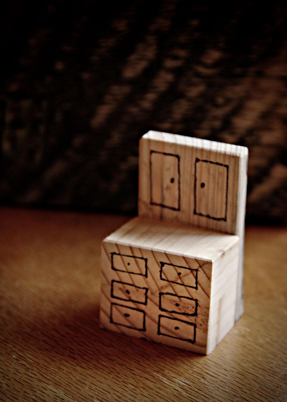 Homemade Wooden Dollhouse Bernier Isms Amp Random Thoughts