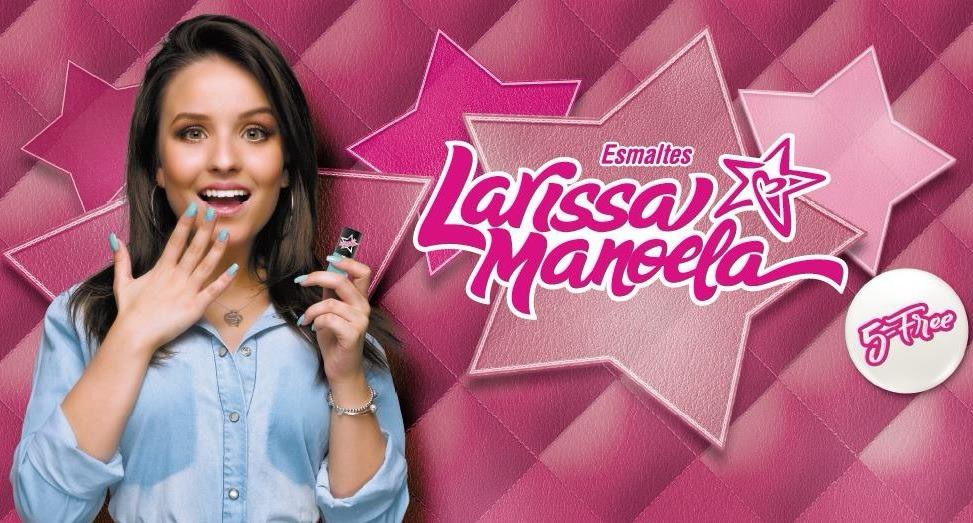 COLEÇÃO DE ESMALTES LARISSA MANOELA