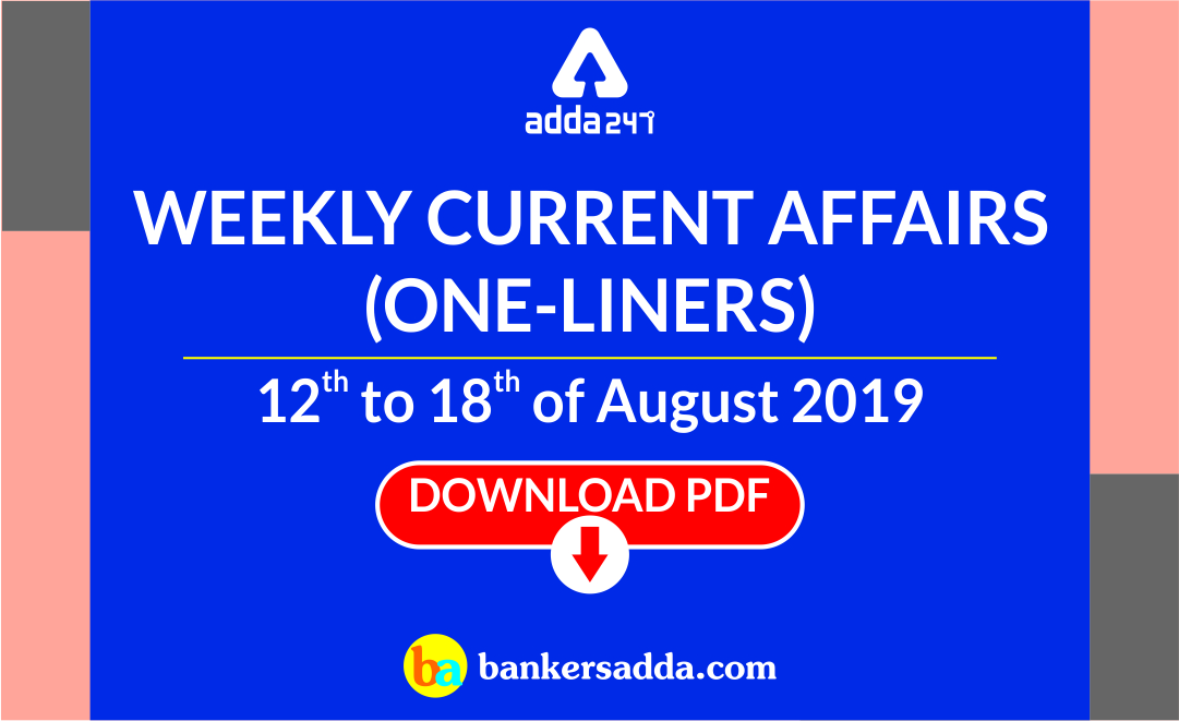 weekly-one-liners-current-affairs