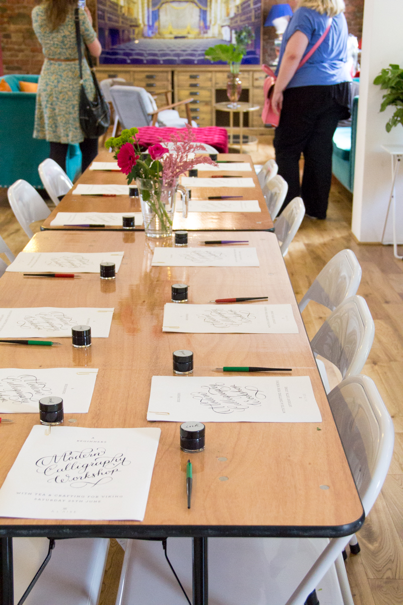 viking arty party lumiere london - 100 Ways to 30, calligraphy workshop,calligraphy writing, calligraphy practice, crafts, arts, heather chambers uk fashion & lifestyle blogger