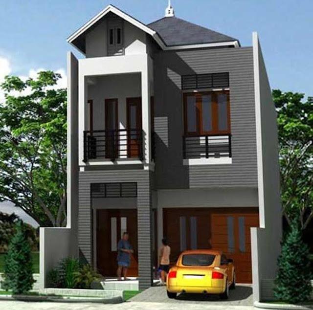 rumah minimalis bertingkat sederhana