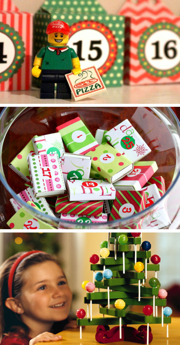 AMAZING DIY ADVENT CALENDARS FOR KIDS- these are so fun! #adventcalendar #adventcraftsforkids #diyadventcalendar #christmascraftsforkids #growingajeweledrose