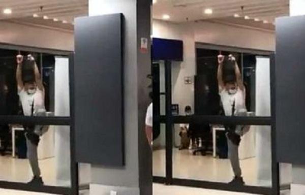 Tidak Mau Diperiksa Kesehatannya Turis China Malah Ngamuk di Bandara