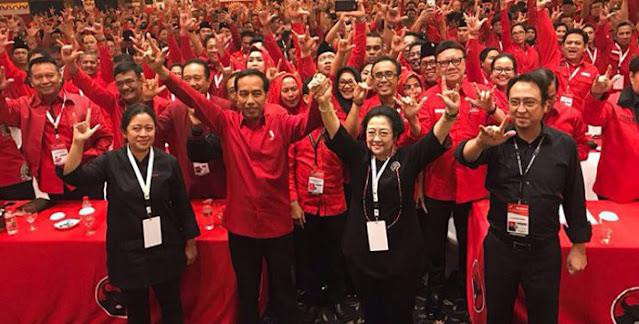 Pilihan PDIP cuma Dua, Ganti Ketua Umum Secepatnya atau Petaka, Jokowi Sulit