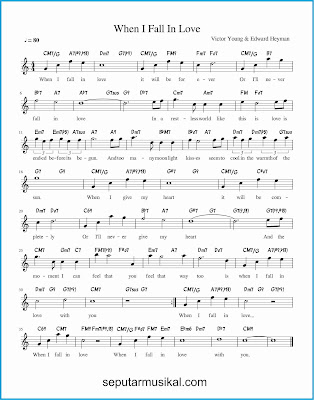 when i fall in love lagu jazz standar