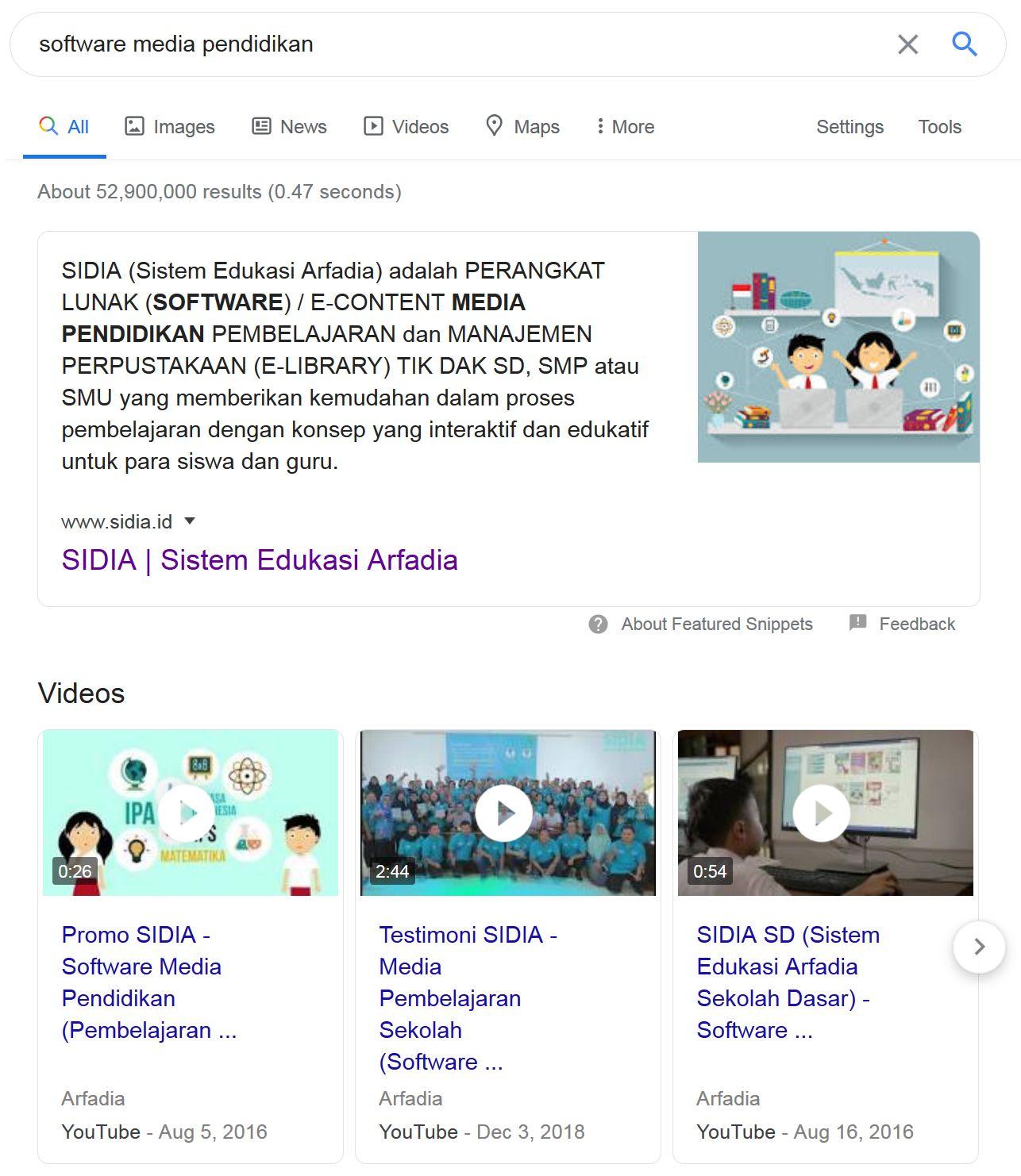 Google Search Domination by Jasa SEO Arfadia