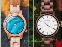 Vota e vinci gratis uno degli orologi di Babbo Natale firmati Holzkern