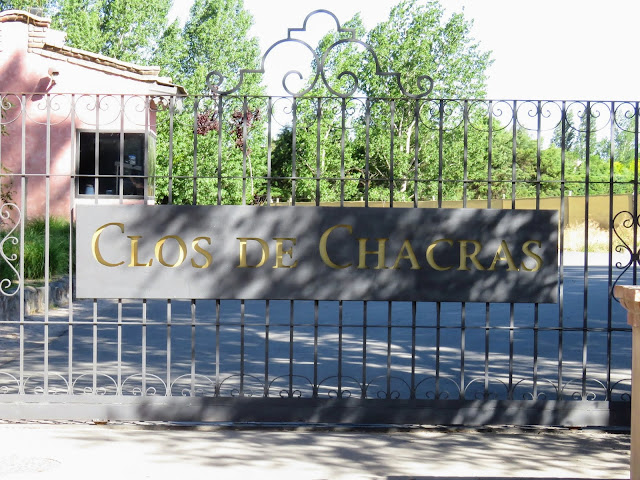 Fun things to do in Mendoza Argentina: Gate at Clos de Chacras winery