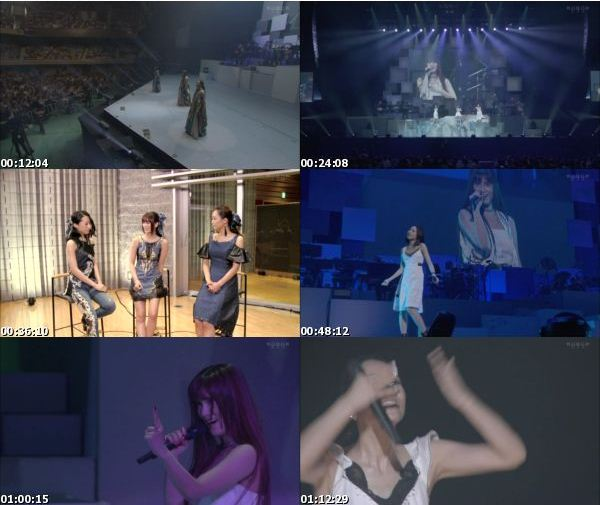 [TV-Variety] Kalafina Arena LIVE 2016 at 日本武道館 (WOWOW Live 2016.10.29)
