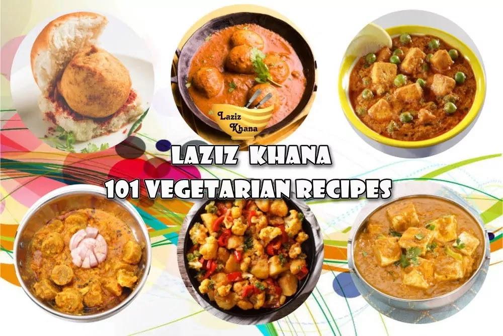 Khana Khazana Vegetarian Recipes in Hindi