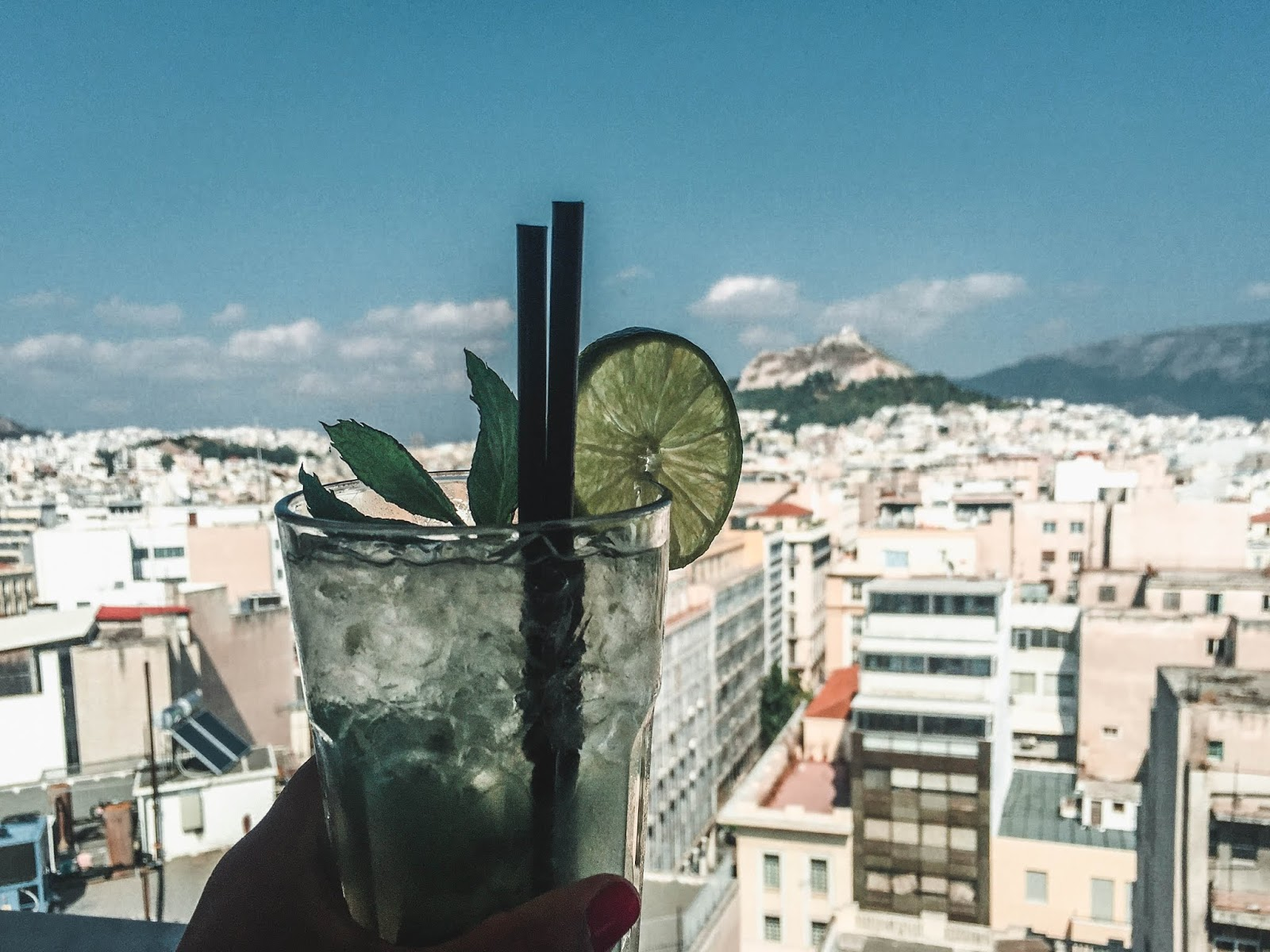 Athens Greece Rooftop Bar