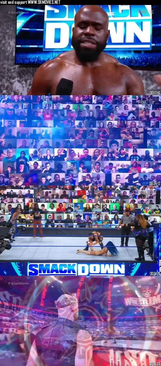 WWE Friday Night Smackdown 19 February 2021 HDTV 720p 480p 300MB