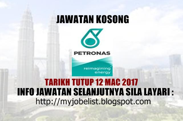 Jawatan Kosong di PETRONAS ICT Sdn Bhd Mac 2017