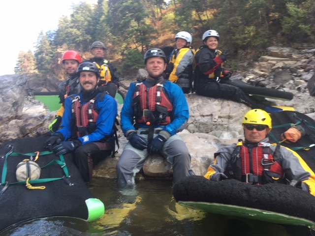 Whitewater Guide Training in Montana