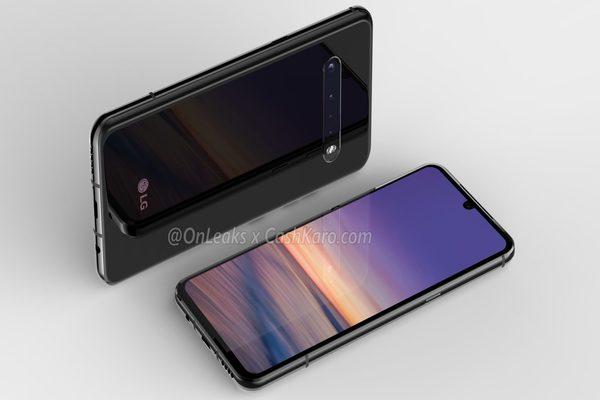 تسريب صور هاتف LG G9 الجديد