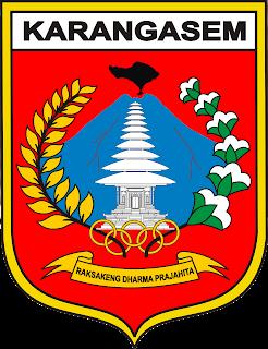 Logo/ Lambang Kabupaten Karangasem