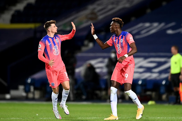 Chelsea duo Mason Mount and Tammy Abraham