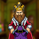 Games4King - G4K Powerful Irascible King Escape Game