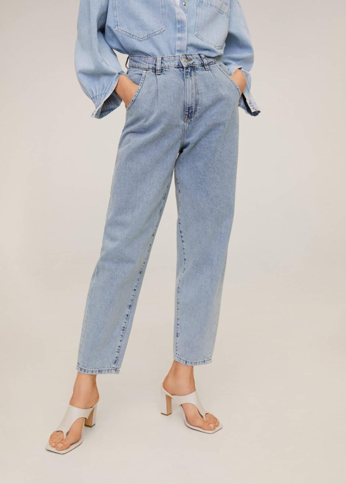 slouchy regina jeans