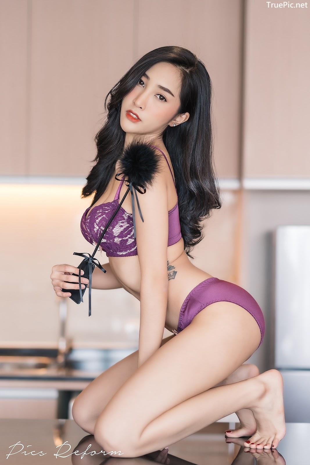 Image-Thailand-Sexy-Model-Yanapat-Ukkararujipat-Violet-Girl-TruePic.net- Picture-1