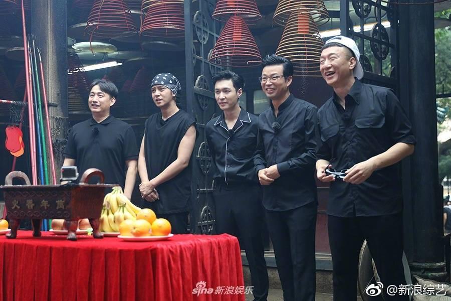 "170721 Sina Variety Weibo Update with Lay: ""Go Fighting Season 3 Episode 3 Hong Kong stills"""
