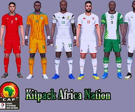 PES 2017 Kitpack Africa Nation 2020/2021