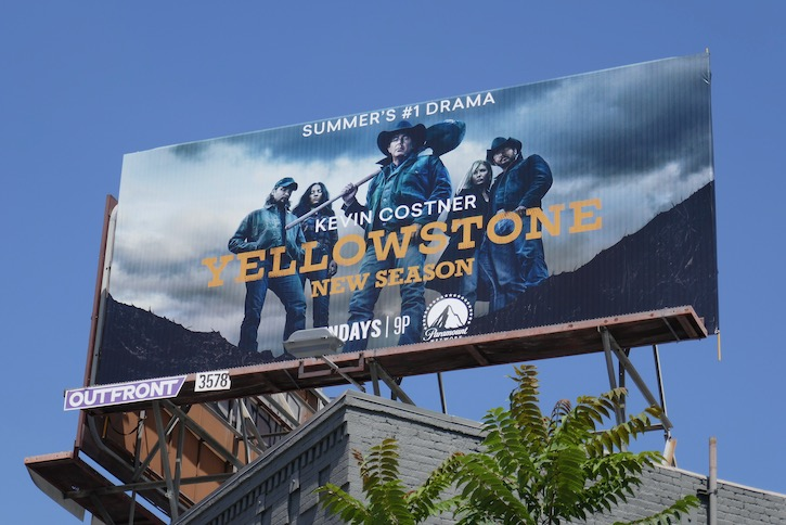 Yellowstone season 3 billboard