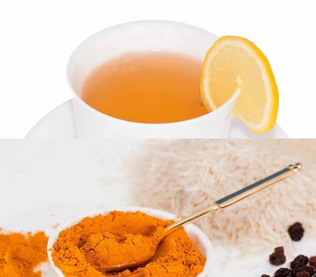 شاي الكركم والليمون لفقدان الوزن