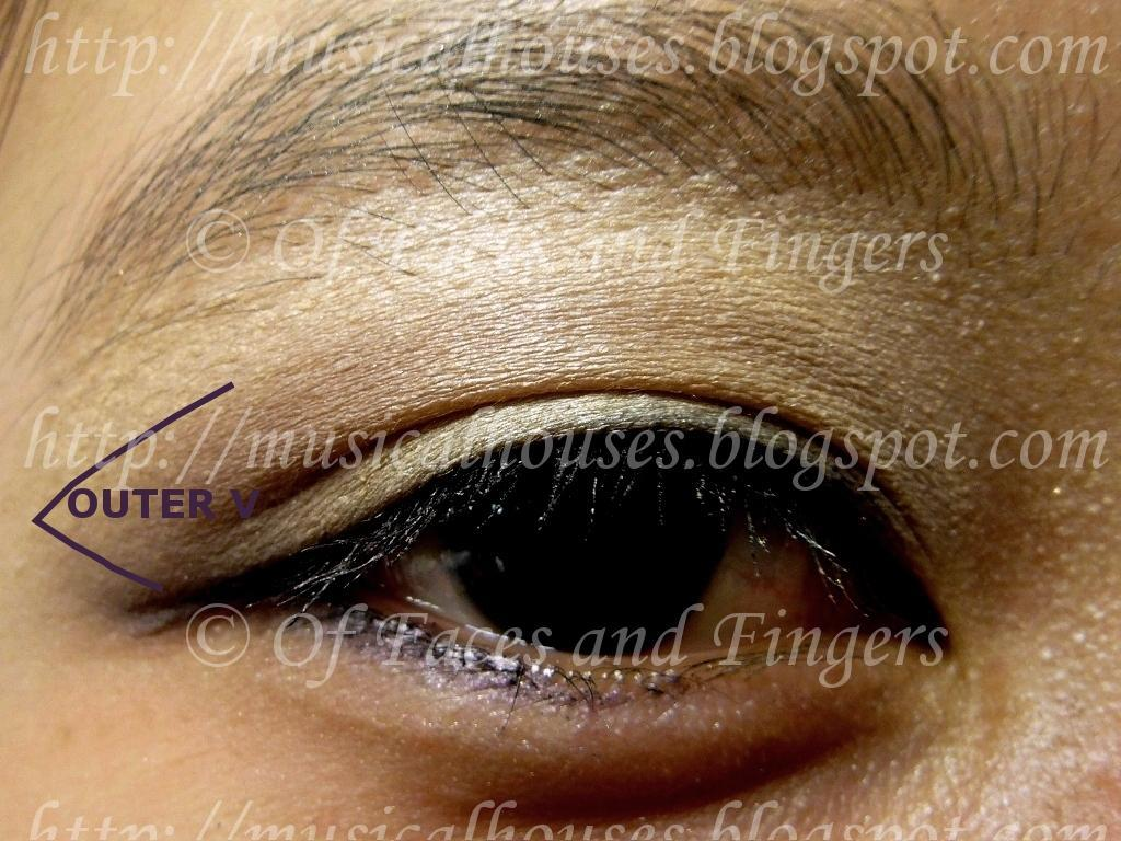 How To Apply Eyeshadow Diagram 2004 Pt Cruiser Radio Wiring Tutorial For Asian Eye Shapes Round Prominent