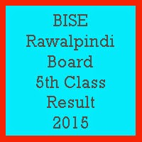 5th Class Result 2017 BISE Rawalpindi Board